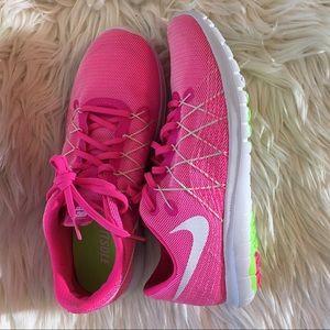 Nike Flex Fury 2 Running Shoe PINK Size 9.5